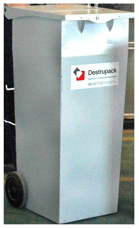 Contenedor Metal Destrupack
