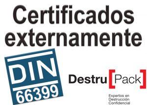 Certificados DIN