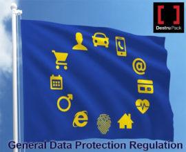 GDPR bandera simbolos