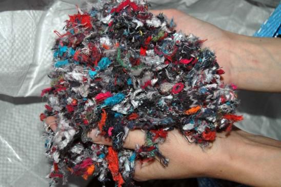 Trituramos el textil