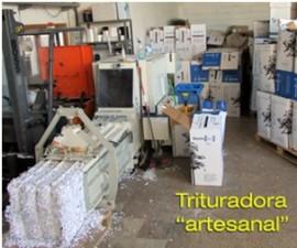 "Trituradora ""Artesanal"""