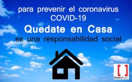 COVID 19 quedate en casa v1