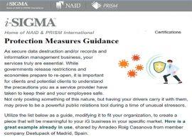 iSigma Buenas practicas NAID 3 v1